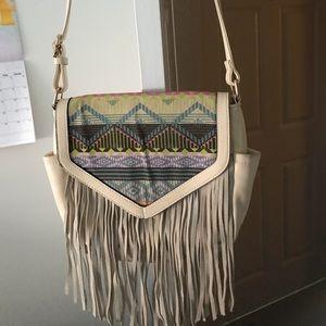 Handbags - Fringe hand bag